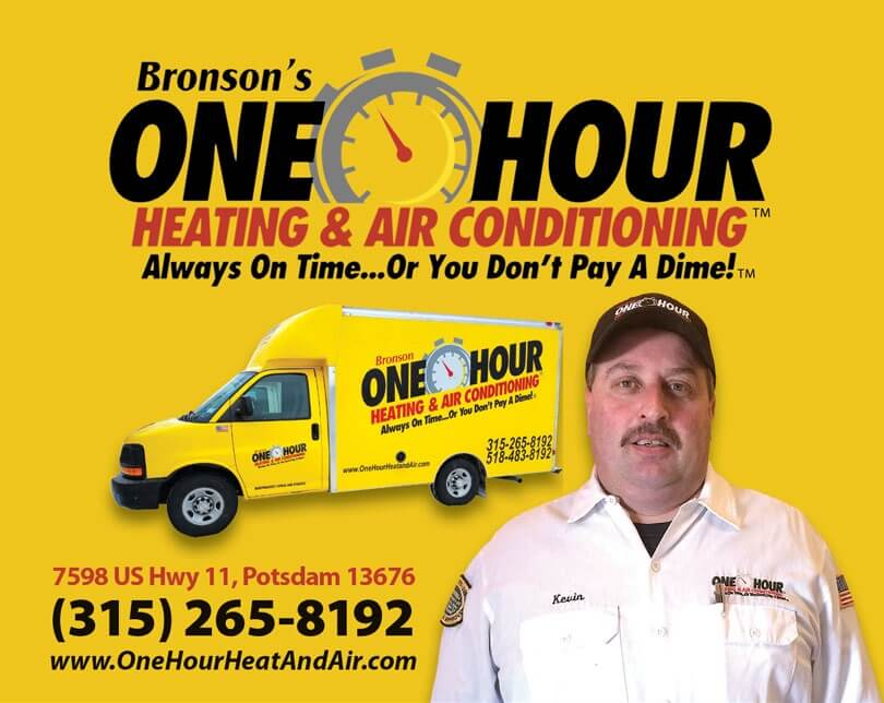 Bronson's One Hour Heating & Air Conditioning technician