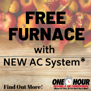 Free furnace with new AC system