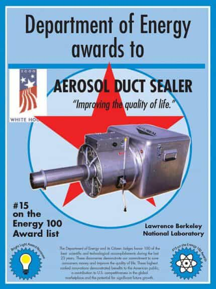 Aeroseal Duct Cleaning Infographic