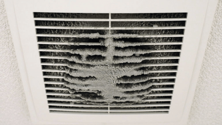 Dirty AC Vent